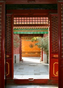Chinese entrance